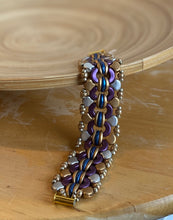 Load image into Gallery viewer, Purple Arches Bracelet