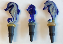 Load image into Gallery viewer, Seahorse Wine Bottle Stopper