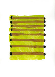 #52 Monoprint/Collage by Dolores Poacelli