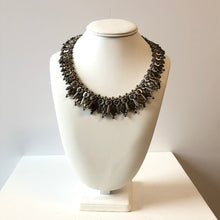 Load image into Gallery viewer, Metallic Silver Necklace