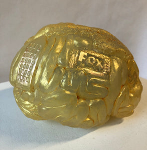 Trumplemaker Brain - Gold Leaf