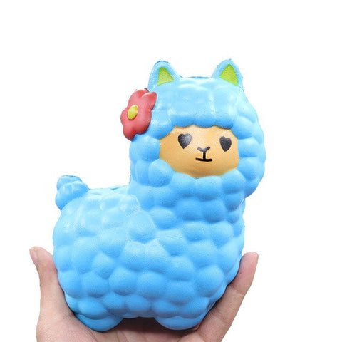 cute child toy lovely Sheep Squishy Cute Alpaca