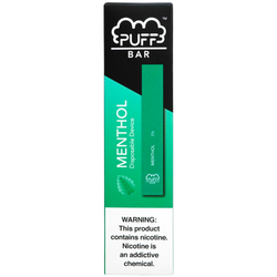 Disposable Puff Bar menthol (1PC)
