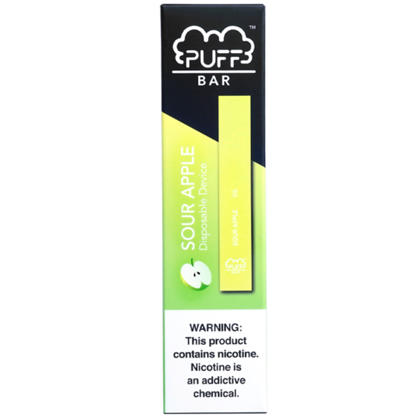 Disposable Puff Bar Sour Apple(1PC)