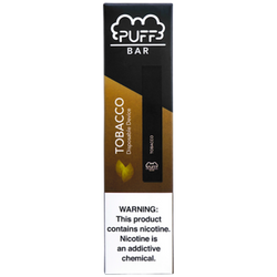 Disposable Puff Bar Tobacco(1PC)