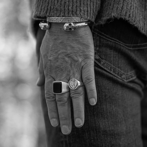 Anchor Signet Ring - DAD of Sweden