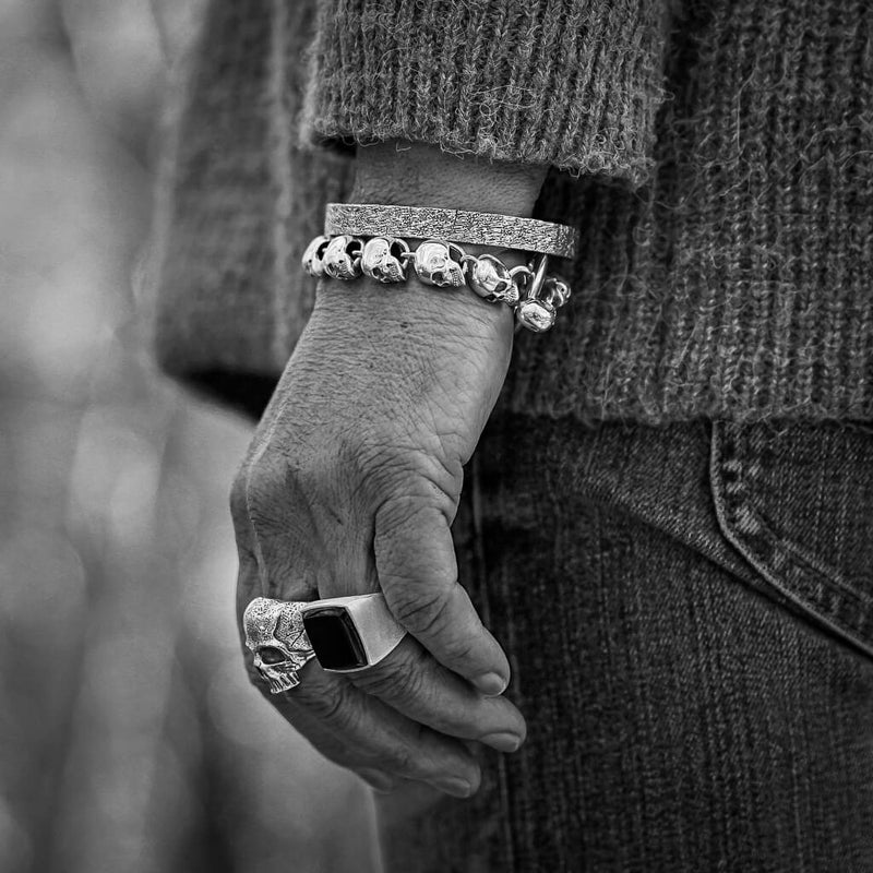 Hammered Bangle - DAD of Sweden
