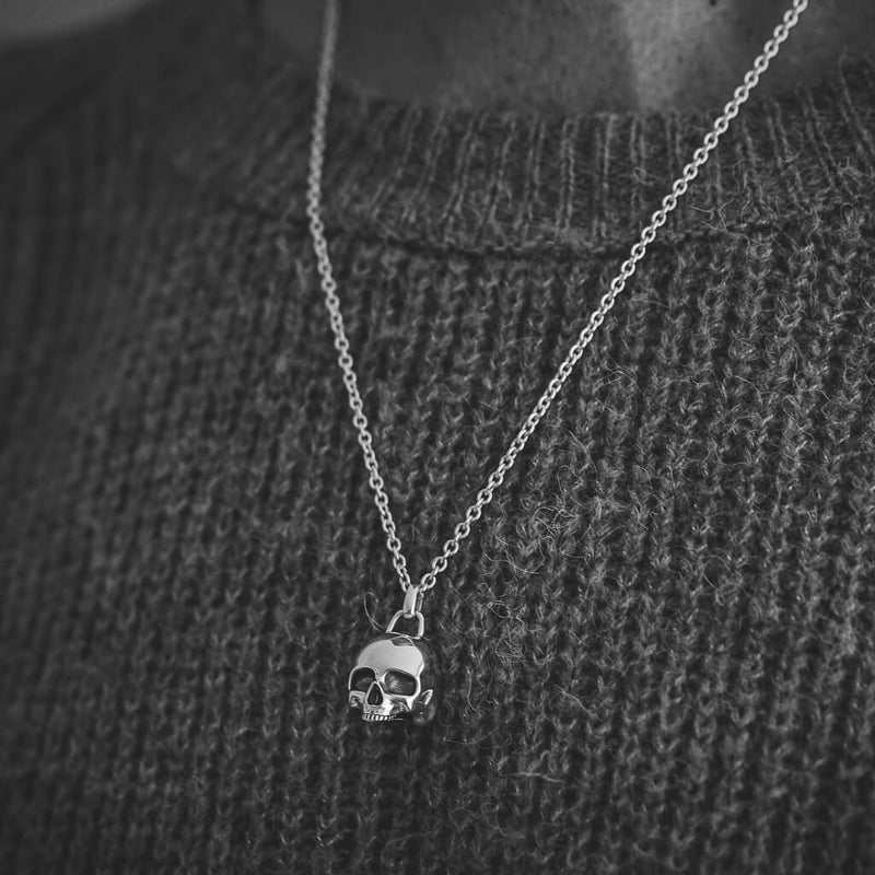 Jawless Skull Necklace - DAD of Sweden