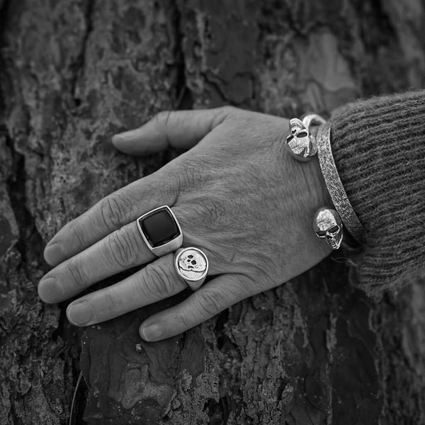 Skull Signet Ring - DAD of Sweden