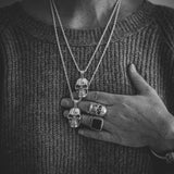 Anatomical Skull Necklace - DAD of Sweden