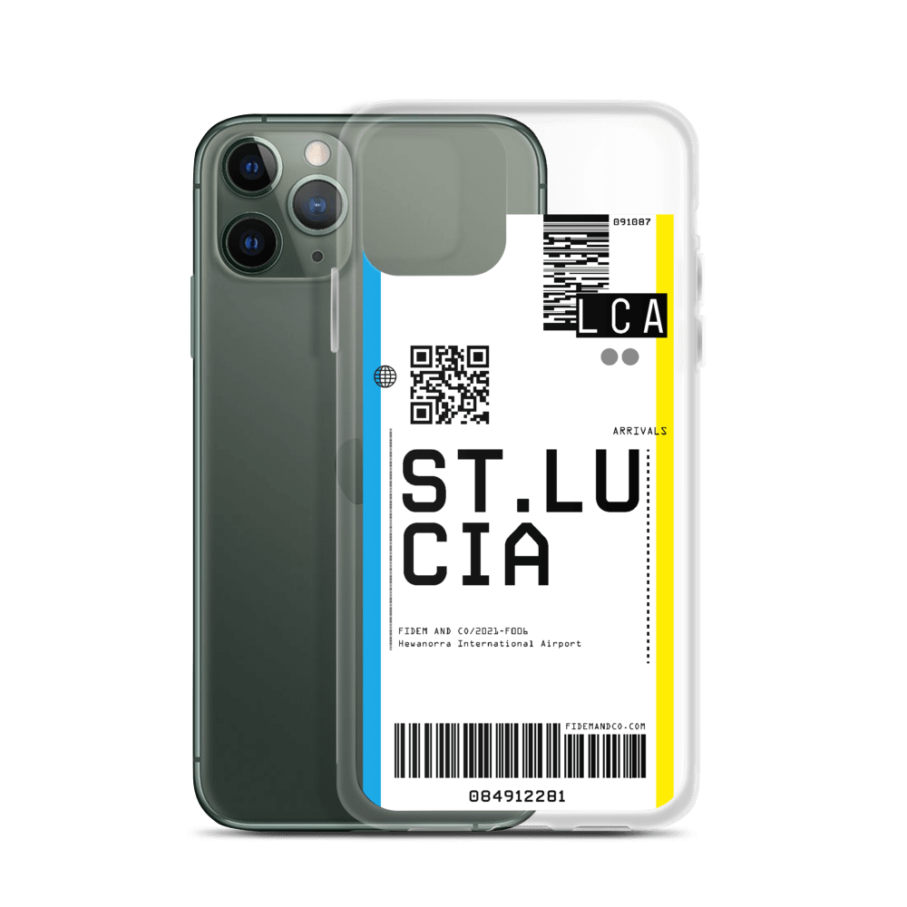 St. Lucia Flight Ticket Case