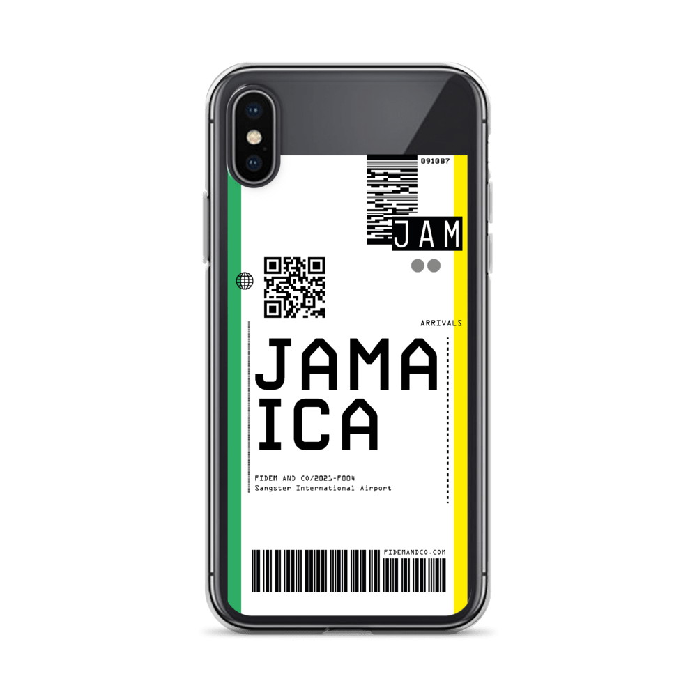 Jamaica Flight Ticket Case