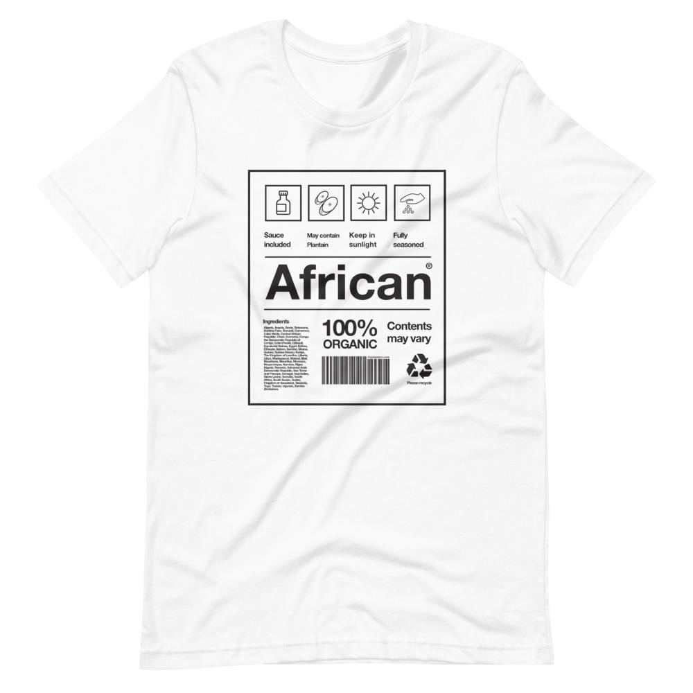 African Packaging T-shirt White