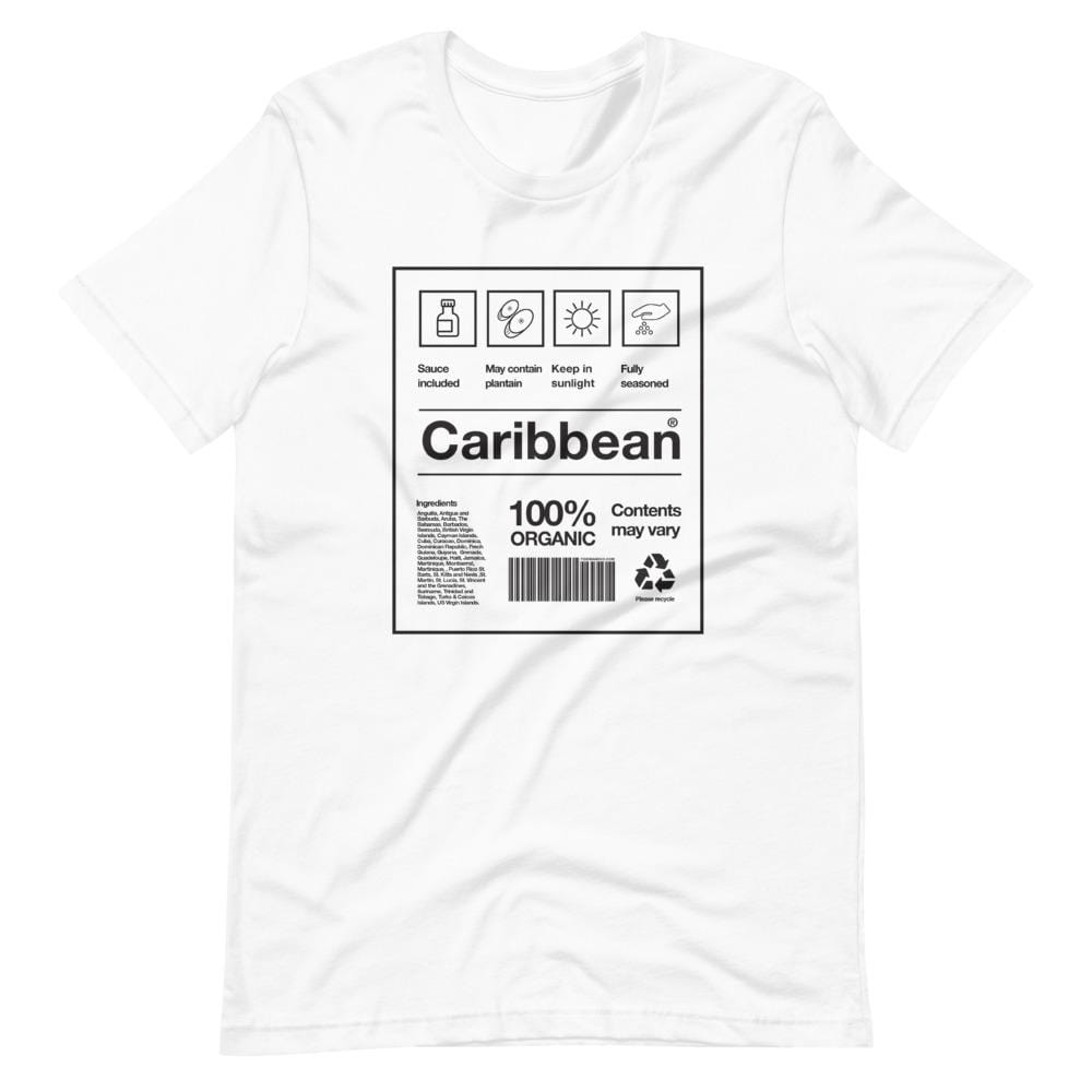 Caribbean Packaging T-shirt White