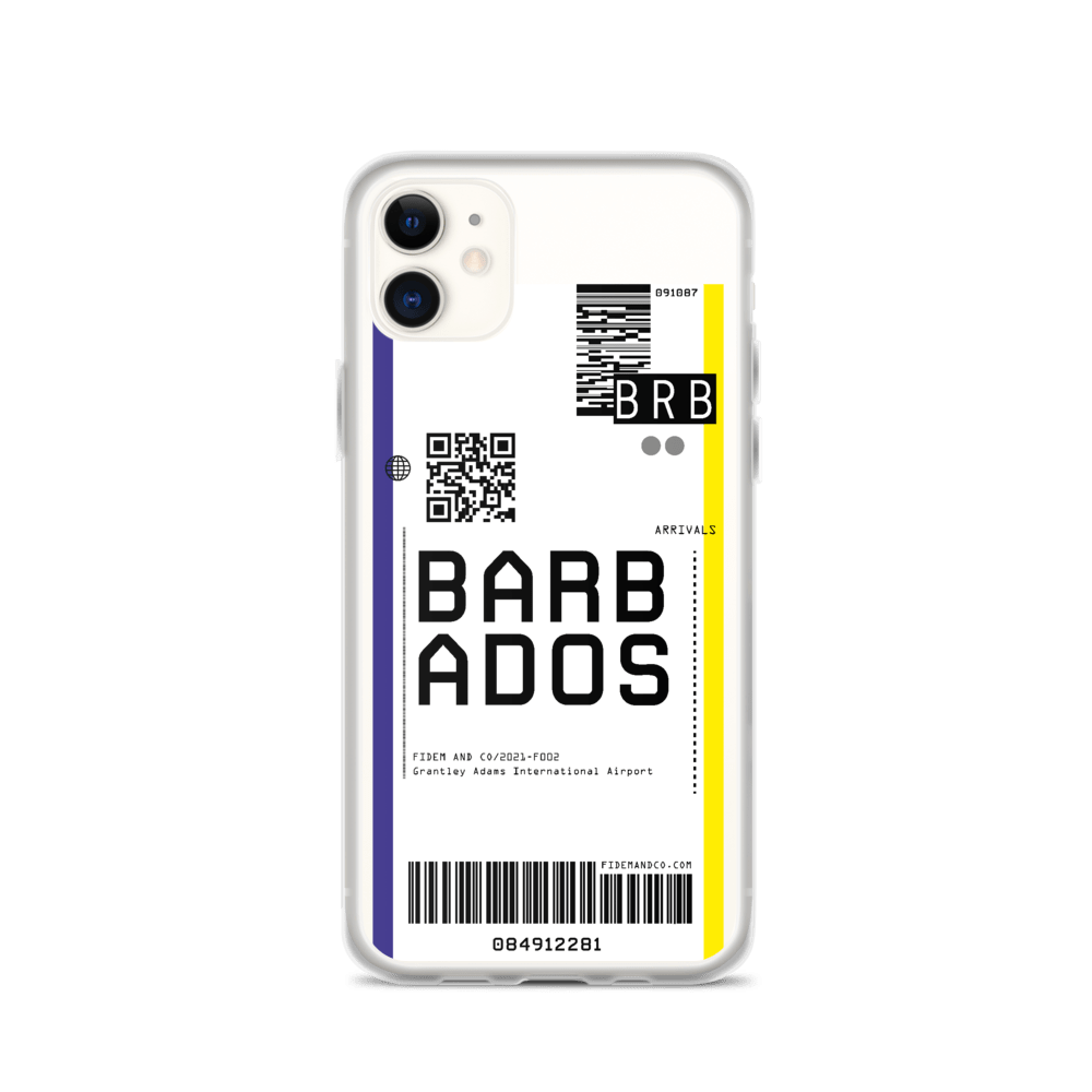 Barbados Flight Ticket Case