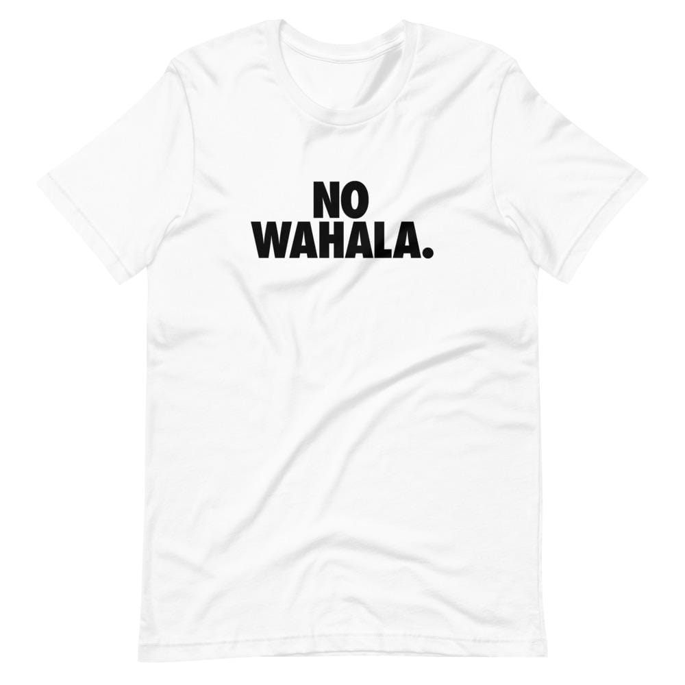 No Wahala Slogan T-shirt Short-Sleeve Unisex T-Shirt
