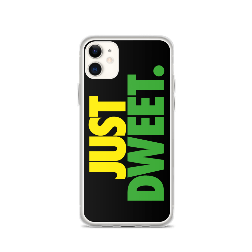 Just Dweet iPhone Case