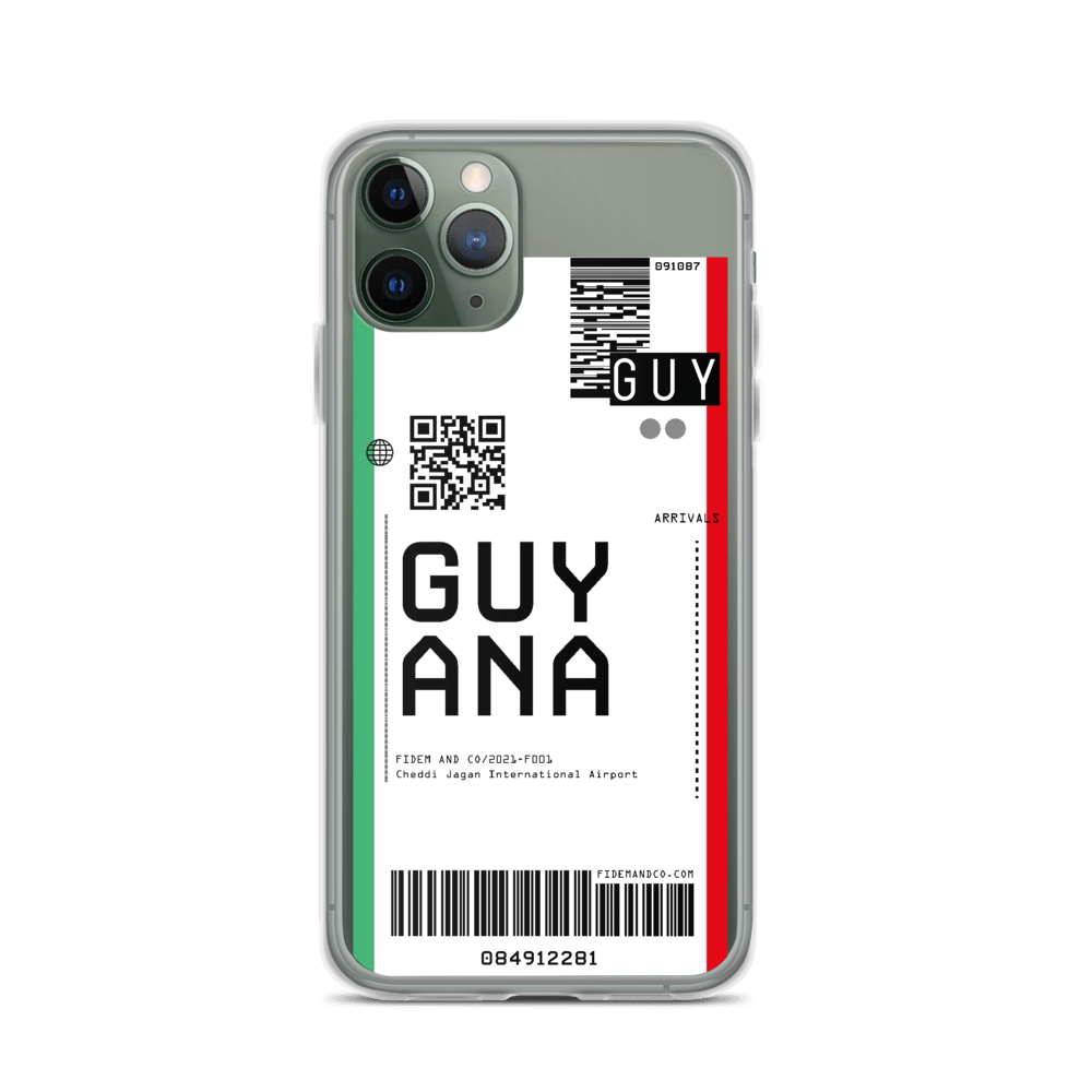 Guyana Flight Ticket Case