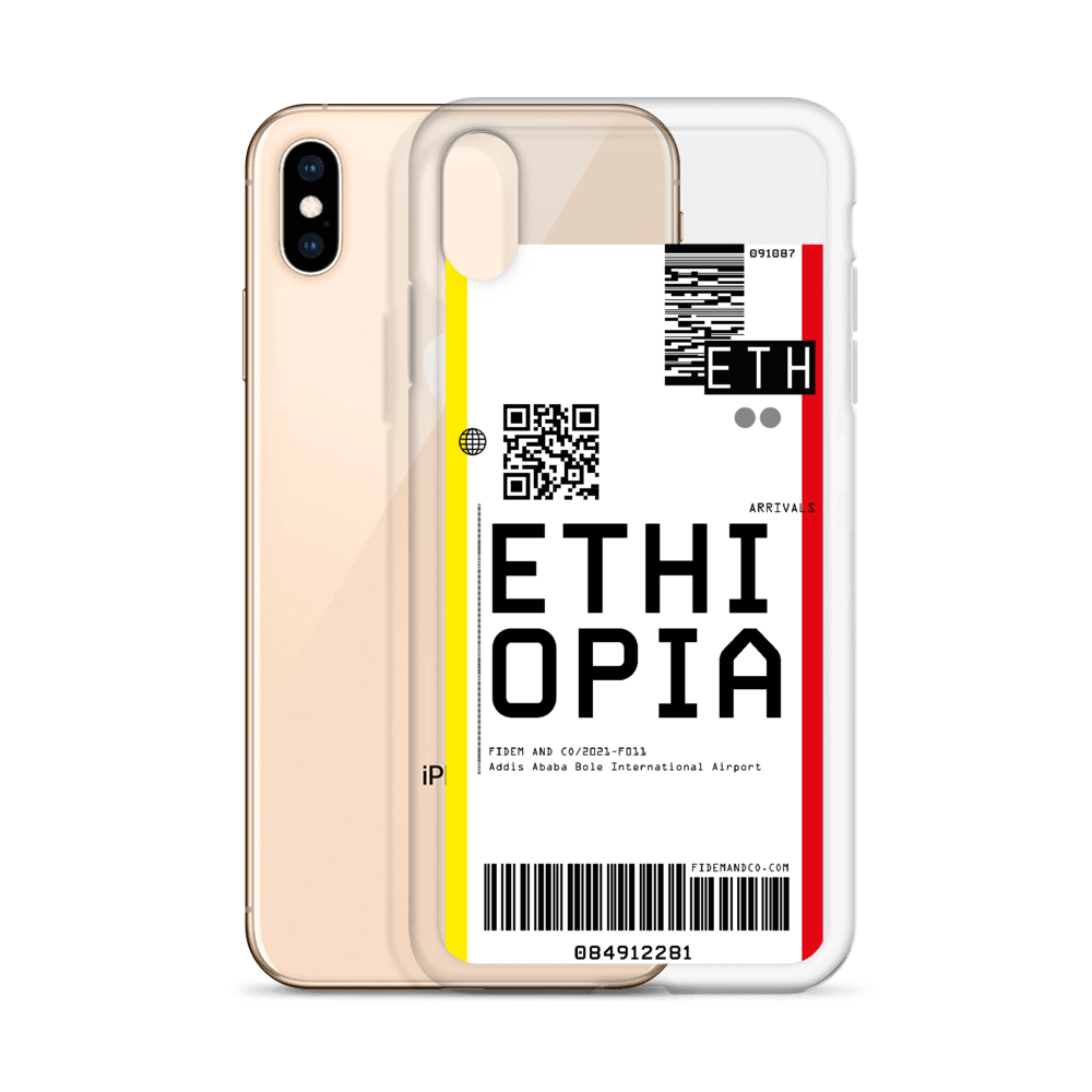 Ethiopia Flight Ticket Case