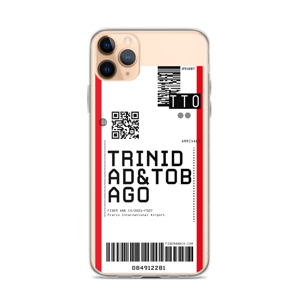 Trinidad & Tobago Flight Ticket Case