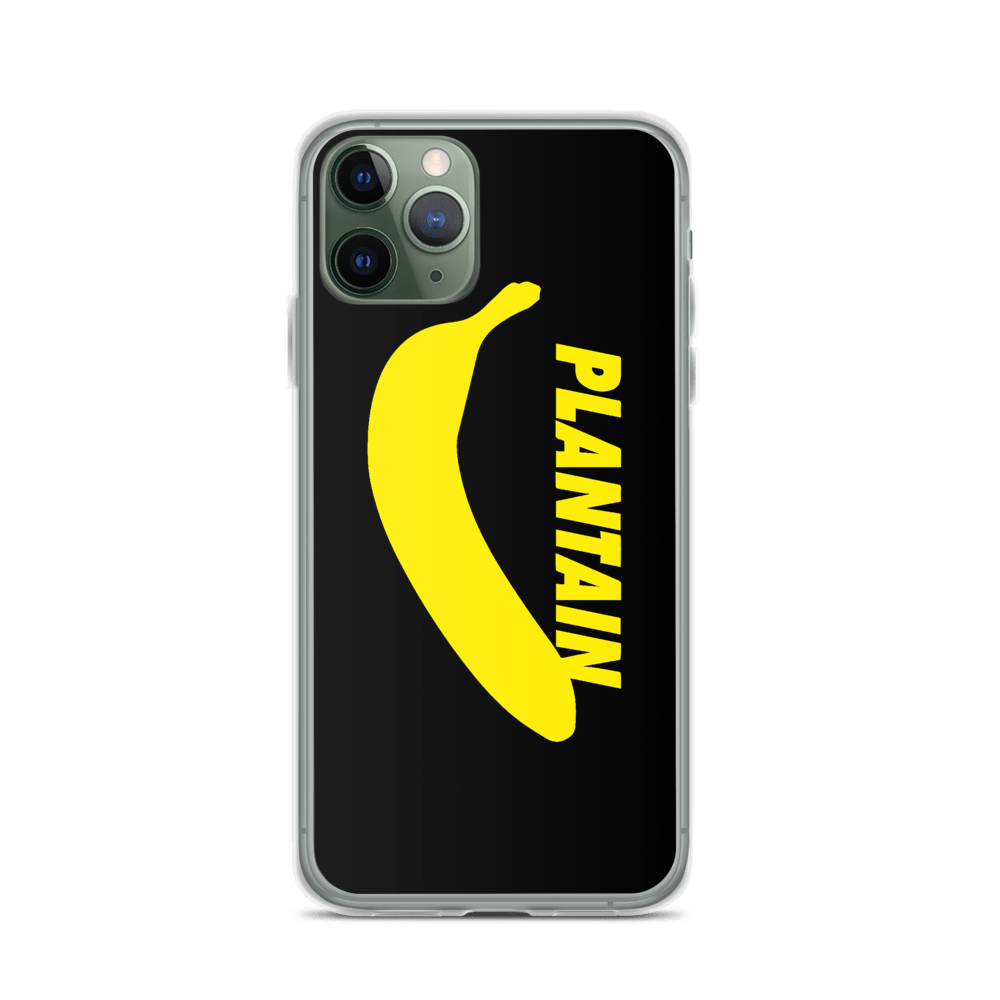 Plantain Logo iPhone Case