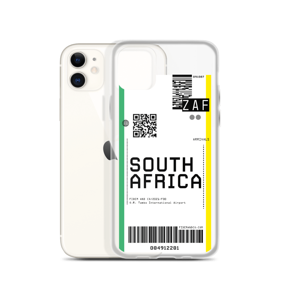 South Africa Flight Ticket Case