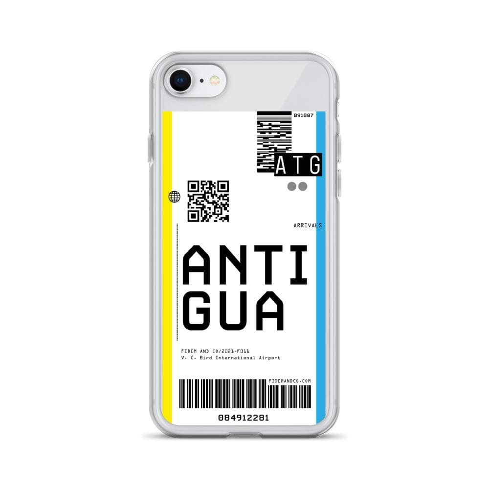Antigua Flight Ticket Case