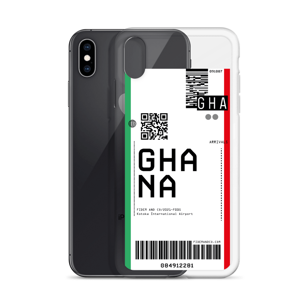 Ghana Flight Ticket Case