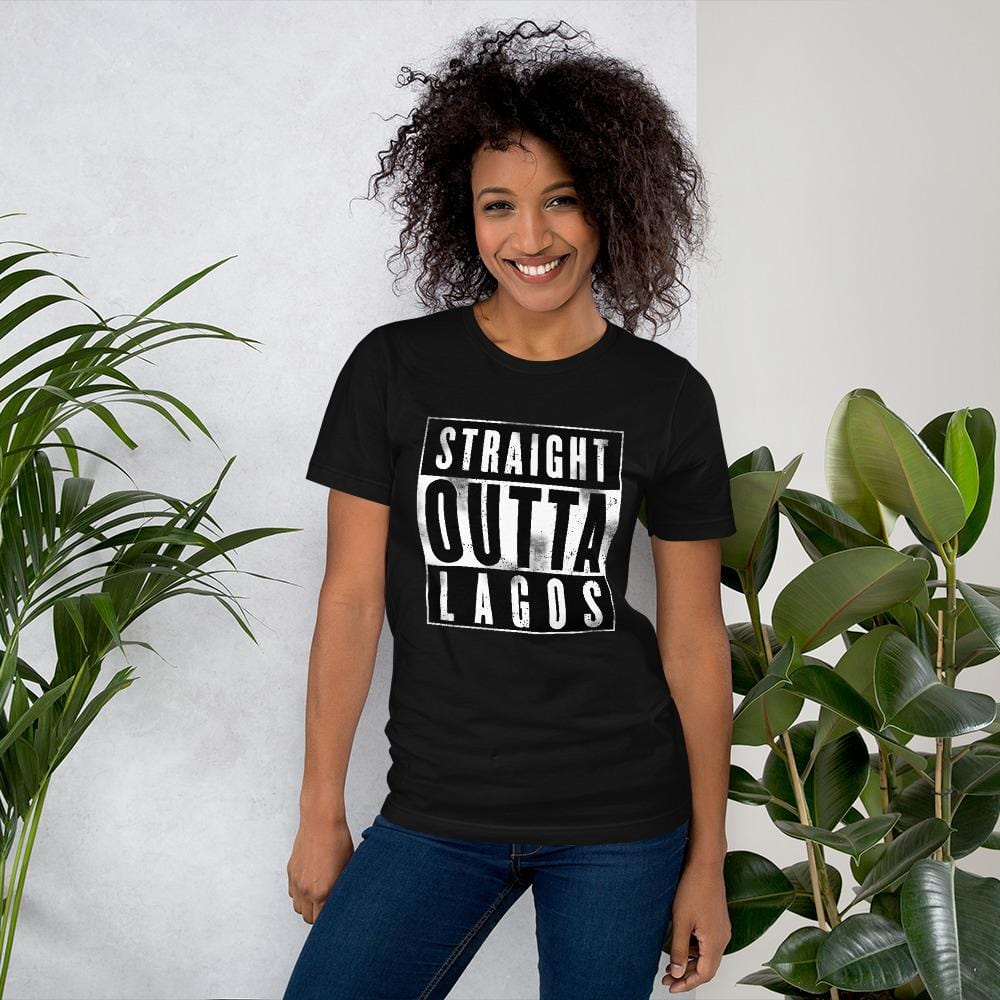 Straight Outta Lagos T-shirt