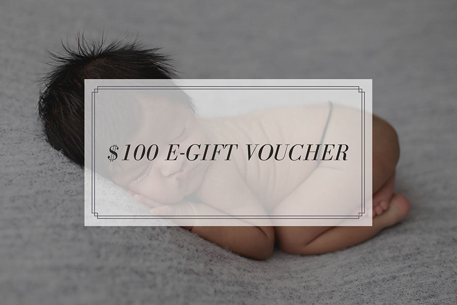 Bec Gordon Photography. $100 E-Gift Voucher.