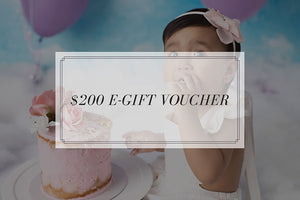 Bec Gordon Photography. $200 E-Gift Voucher.