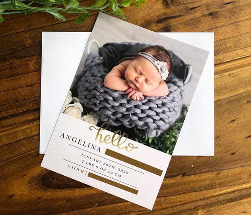 Birth Announcement - Bec Gordon Photography