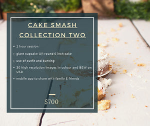 Cake Smash Collection Pricing