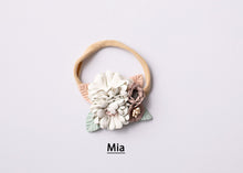 Load image into Gallery viewer, Bec Gordon Photography. Floral Headband. Super soft nylon. Mamá + Bebé.