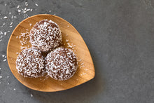 Load image into Gallery viewer, Bec Gordon Photography. Gluten Free Bliss Balls. Healthy Breastfeeding snack.