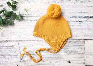 Knitted Beanie - Bec Gordon Photography