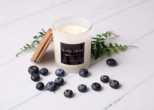Blueberry Pie Soy Candle.