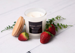 Strawberries & Champagne Soy Candle.