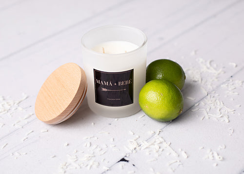 Coconut Lime Soy Candle.