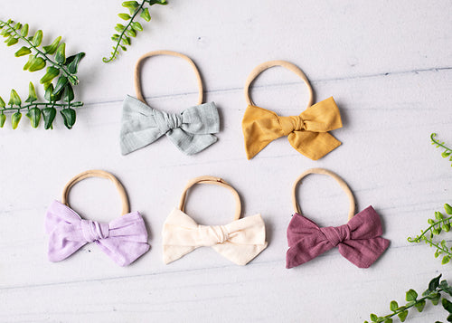 Large Bow Headband.
