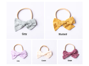 Large Bow Headbands.