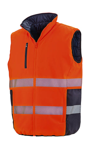 Result 877.33 Reversible Soft Padded Safety Gilet