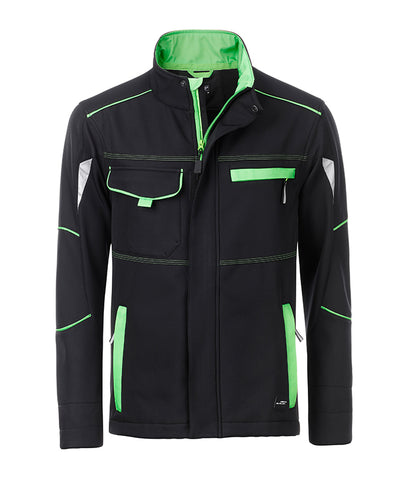James & Nicholson JN851 Workwear Softshell Jacket