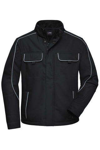 James & Nicholson JN884 Workwear Softshell Jacket