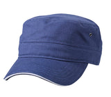 myrtle beach MB6555 Military Sandwich Cap