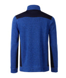 James & Nicholson JN864 Men's Knitted Workwear Fleece Half-Zip