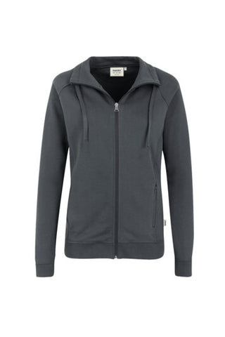 Hakro 406 Damen Sweatjacke College
