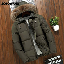 Load image into Gallery viewer, 90% Down Jackets Men Winter Jacket