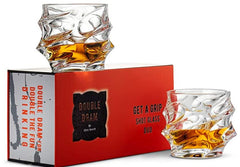 Get a grip shot whiskey glasses