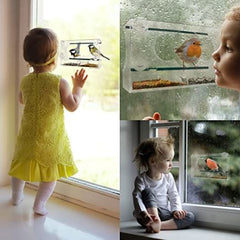 Bird feeder for any age